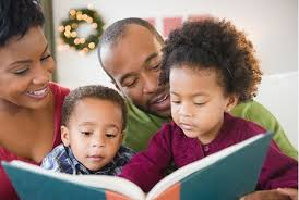 Family Reading Together 1